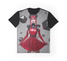 Dead Lotus Couture Red Graphic T-Shirt