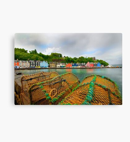 Tobermory - Isle Of Mull Canvas Print