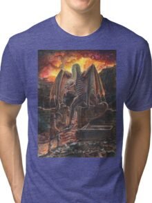Saurian Sanctuary Tri-blend T-Shirt