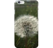 Best of nature dandelion iPhone Case/Skin