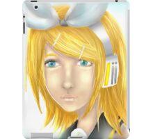 Rin Kagamine Vocaloid Semi Realist iPad Case/Skin