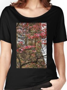 Pink Spring Dogwood Women's Relaxed Fit T-Shirt