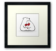 Bears Love Framed Print
