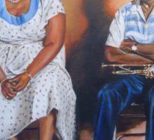 Ella Fitzgerald & Louis Armstrong Sticker
