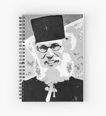 Brother Nathanael Spiral Notebook