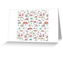 Goffstown Main Street Icons Greeting Card