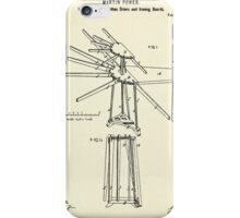 Improvement in Clothes Driers and Ironing Boards-1878 iPhone Case/Skin