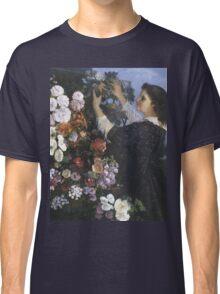 Vintage famous art - Gustave Courbet - The Trellis Classic T-Shirt