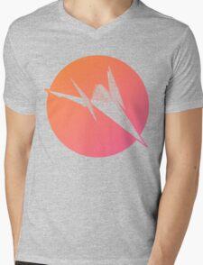 Sunset Arwing Mens V-Neck T-Shirt