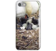 Witnessing the birth. iPhone Case/Skin