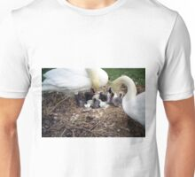 Witnessing the birth. Unisex T-Shirt