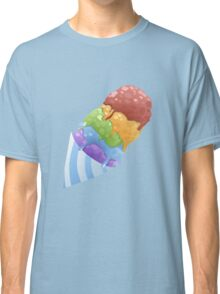Colourful Ice Cone Classic T-Shirt