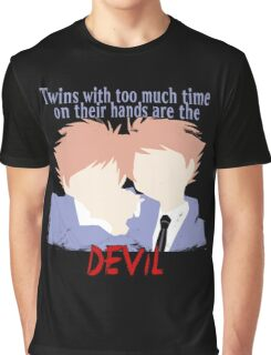 Twins with too much time on their hands Graphic T-Shirt