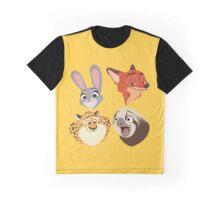 Animals Q Graphic T-Shirt