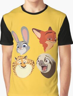 Animals Q Graphic T-Shirt