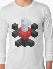 Voxel Darkrai Long Sleeve T-Shirt