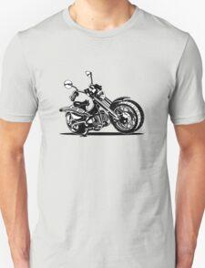 Cartoon Motorcycle T-Shirt