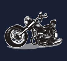 Cartoon Motorbike One Piece - Long Sleeve