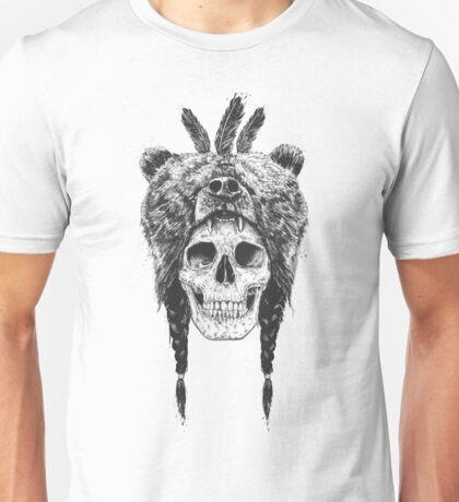 Dead shaman (b&w) Unisex T-Shirt