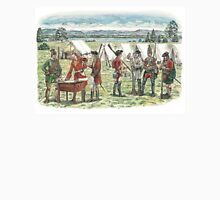 British Troops at the Battle of Quebec 1759 Unisex T-Shirt