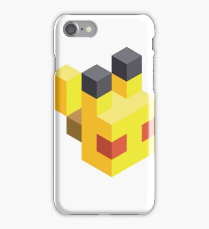 Pikachu Voxel iPhone Case/Skin