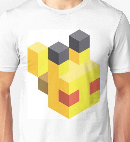 Pikachu Voxel Unisex T-Shirt