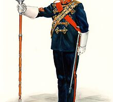 Royal Marines Drum Major by wonder-webb