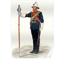 Royal Marines Drum Major Poster