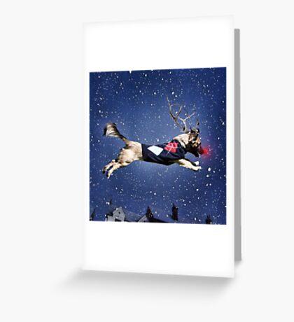 Reindeer Pup Greeting Card