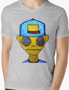 The Observer   Mens V-Neck T-Shirt