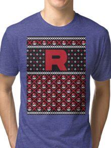 Team Rocket Sweater Tri-blend T-Shirt