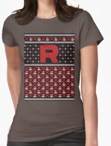 Team Rocket Sweater Womens Fitted T-Shirt