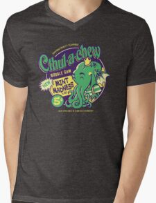 Cthulachew Mens V-Neck T-Shirt