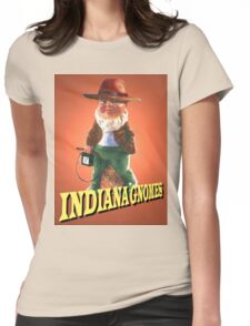 Indiana Gnomes Womens Fitted T-Shirt