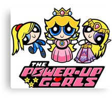 The Power-Up Girls Canvas Print