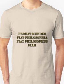 Nietzsche explains the ascetic ideal Unisex T-Shirt