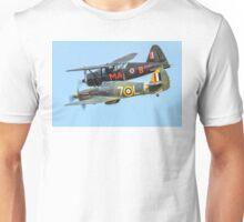 Sea Hurricane & Lysander Formation Unisex T-Shirt