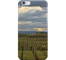 Stormy Vineyard iPhone Case/Skin