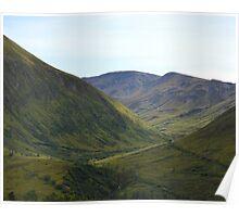 Independence Mine Valley (Wasilla, Alaska) Poster