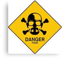 Heisenberg  Danger Toxic - Breaking Bad Canvas Print
