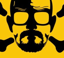 Heisenberg  Danger Toxic - Breaking Bad Sticker