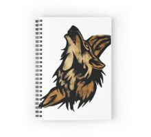 Wolf Tattoo Spiral Notebook