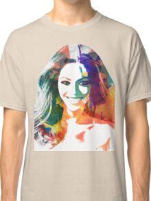 Beyonce watercolor portrait Classic T-Shirt