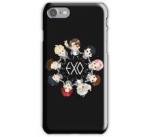EXO cartoon iPhone Case/Skin