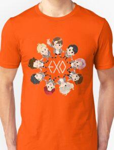 EXO cartoon Unisex T-Shirt