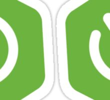 Spring boot logo Sticker