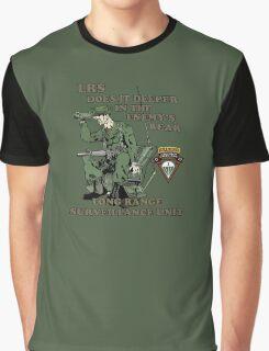 C 52 Long Range Surveillance Graphic T-Shirt
