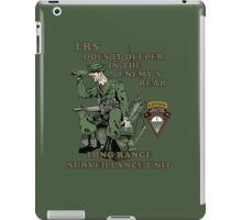 C 52 Long Range Surveillance iPad Case/Skin