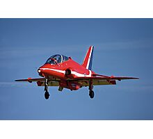 Red Arrows BAE Systems Hawk T1 Photographic Print