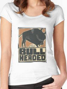 Bullheaded Women's Fitted Scoop T-Shirt